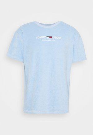TOWELING TEE - Print T-shirt - light powdery blue