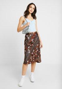 Vero Moda - VMISABEL SKIRT - A-line skirt - brown - 1