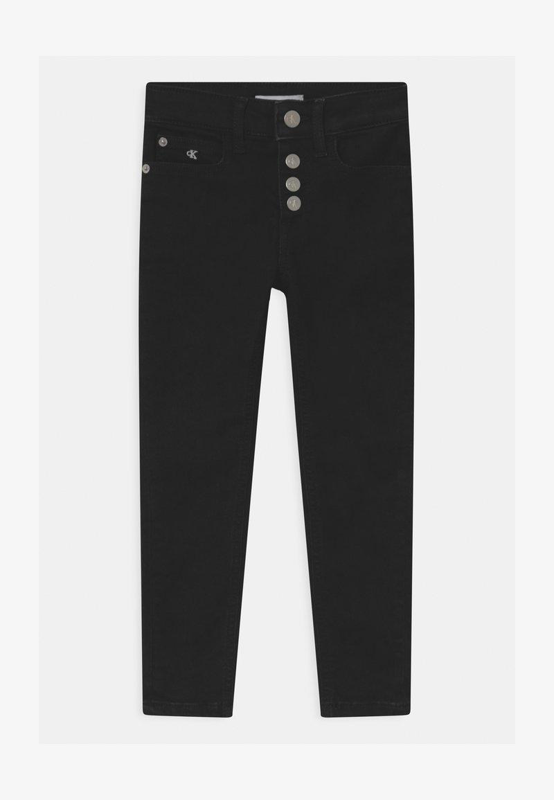 Calvin Klein Jeans - SKINNY CLEAN - Jeans Skinny Fit - black
