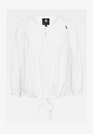 SHELL LONG SLEEVE - Blouse - white