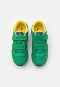 Saucony - JAZZ DOUBLE KIDS UNISEX - Baskets basses - green/yellow/blue - 3