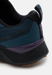 Columbia - FACET15 - Hiking shoes - petrol blue/cyber purple - 5