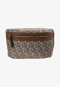 DKNY - CASEY  LOGO - Bum bag - chino logo/vicuna - 2