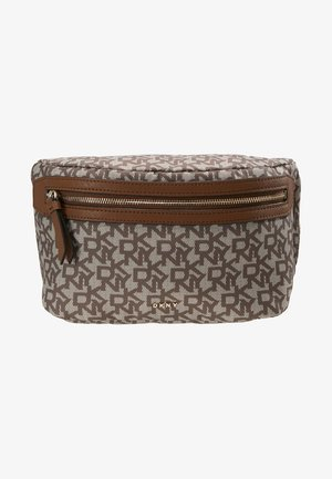 CASEY  LOGO - Bum bag - chino logo/vicuna