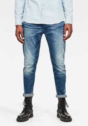 D-STAQ N 3D SLIM - Jeans Tapered Fit - faded azurite
