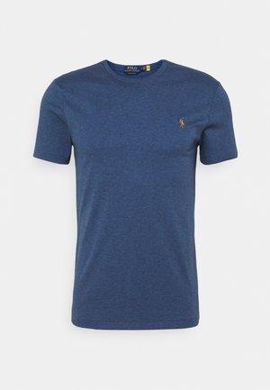 CUSTOM SLIM SOFT TEE - Basic T-shirt - derby blue heather