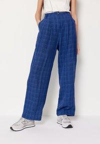 Wood Wood - SIRID TROUSERS - Trousers - blue - 0