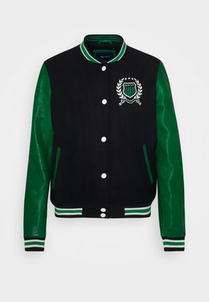 CREST VARSITY JACKET - Bomber bunda - evening blue