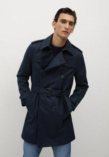 Trenchcoat - dunkles marineblau