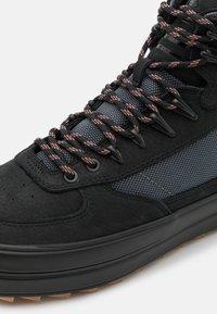 Ellesse - ALZANO - Sneakersy wysokie - black/grey/offwhite - 5