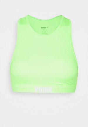 SWIM WOMEN RACERBACK - Bikini top - neon green
