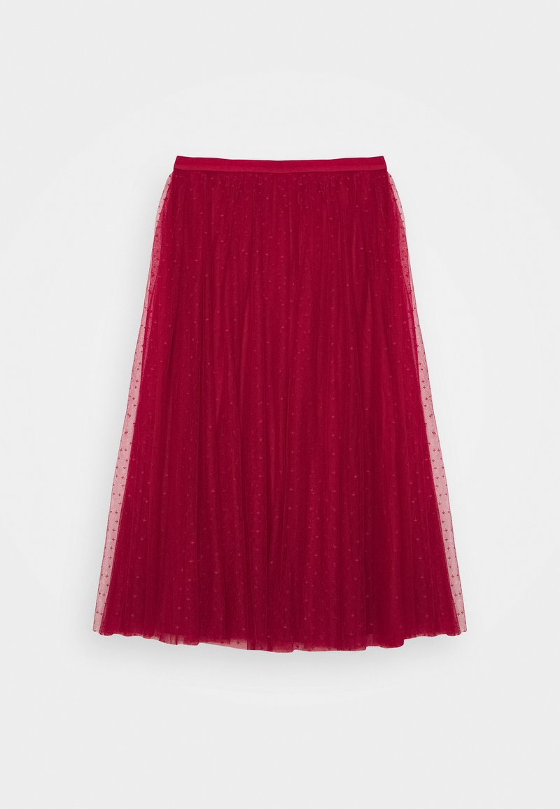 Needle & Thread - KISSES BALLERINA SKIRT - A-line skirt - deep red