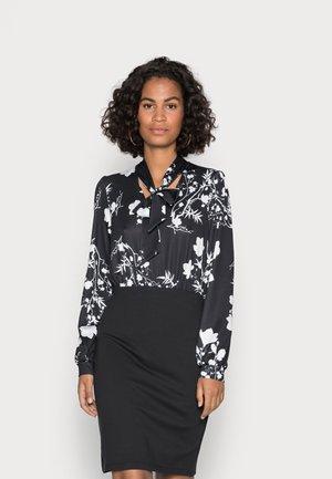 Shift dress - black/white