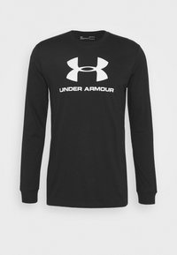 Under Armour - SPORTSTYLE LOGO - T-shirt de sport - black - 4