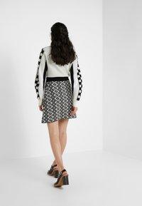 See by Chloé - A-line skirt - white/black - 2