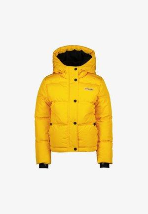 TRIJNY SET - Winterjas - ochre yellow