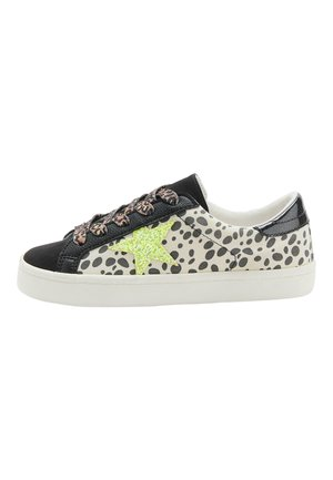 MULTI GLITTER STAR LACE-UP TRAINERS (OLDER) - Trainers - black