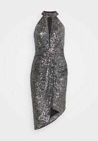 TFNC - HALONA DRESS - Cocktail dress / Party dress - black/silver - 0