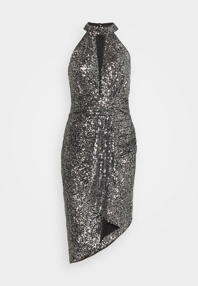 TFNC - HALONA DRESS - Cocktail dress / Party dress - black/silver