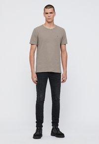 AllSaints - MUSE - Basic T-shirt - grey - 1