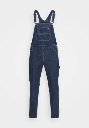 DUNGAREE - Jeans Straight Leg - save dark blue rigid
