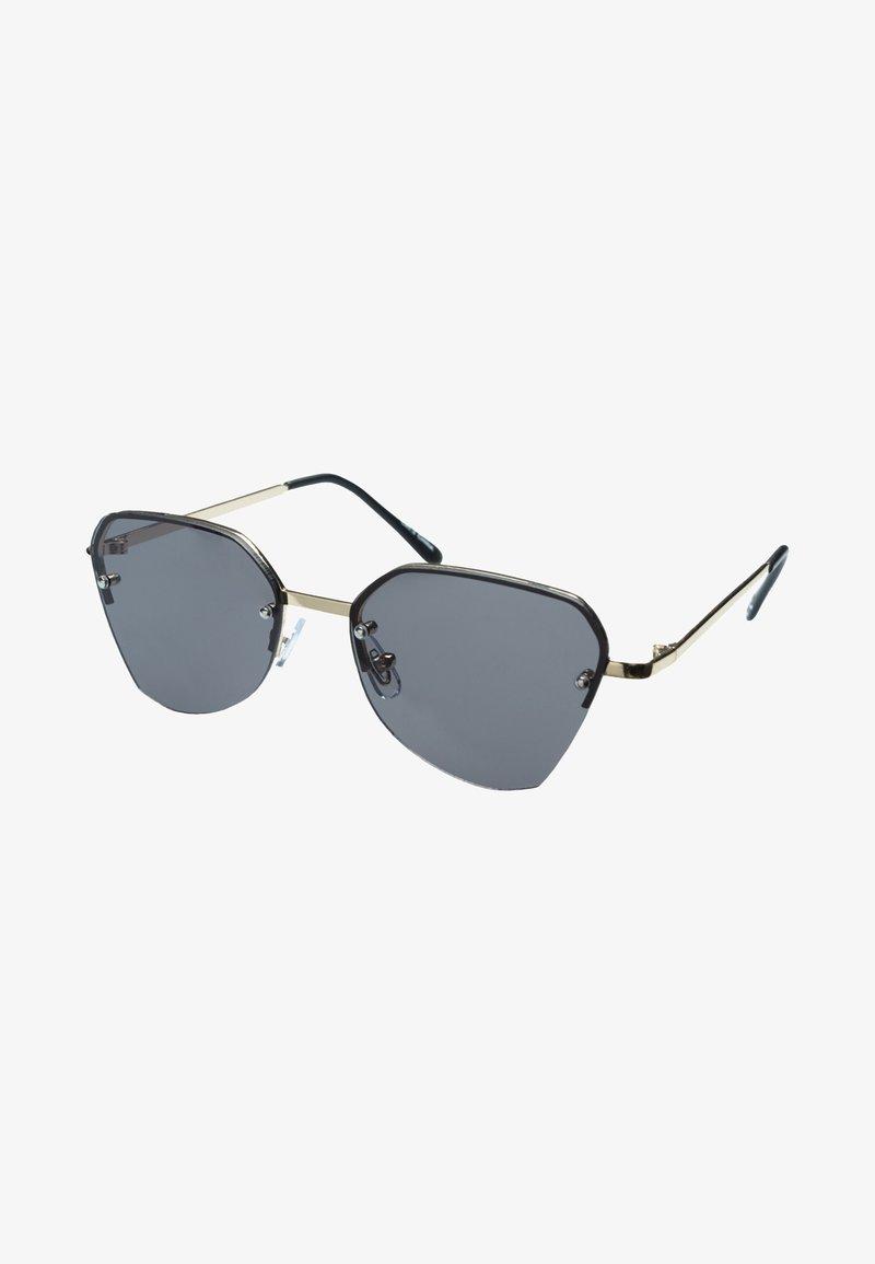 Icon Eyewear - B-FLY - Occhiali da sole - pale gold / grey