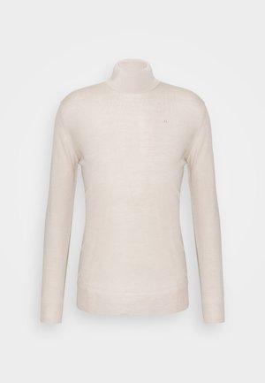 LYD TRUE - Stickad tröja - sand grey