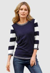 Laura Kent - Sweatshirt - marineblau,weiß - 0