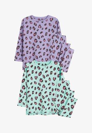 2 PACK ANIMAL LONGLINE - Pyjama set - blue