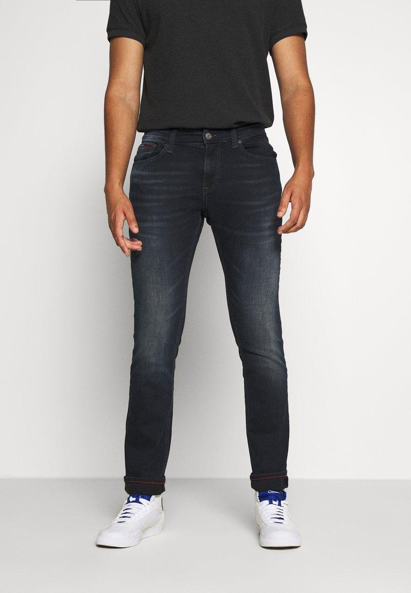 Tommy Jeans - SCANTON SLIM - Slim fit -farkut - dutton blue
