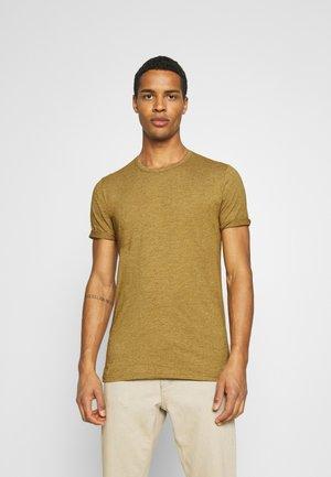 DELTA - Basic T-shirt - dried tobacco