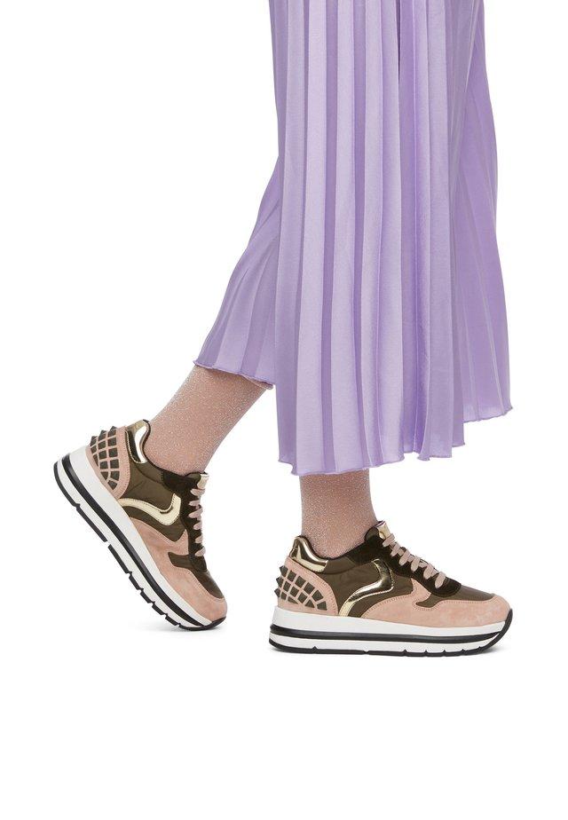 MARAN STUDS - Sneakers basse - rosa