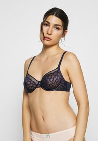 LASCANA - WIRE BRA - Underwired bra - midnightblue - 0