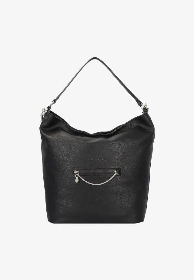 SCHULTERTASCHE 34 CM - Shopper - black
