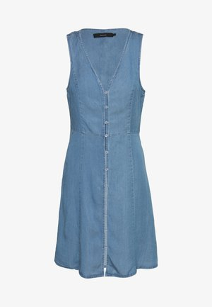 VMLENA SL  - Spijkerjurk - light blue denim