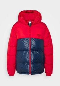 REGEN PUFF - Down jacket - scarle conavy