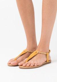 Anna Field - T-bar sandals - yellow - 0