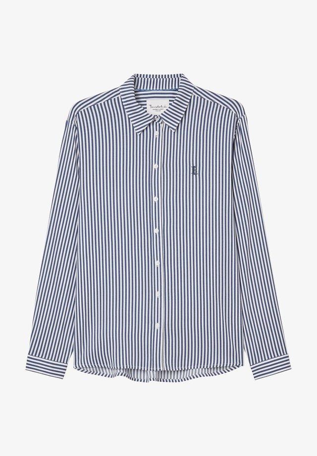 Chemisier - blue stripe