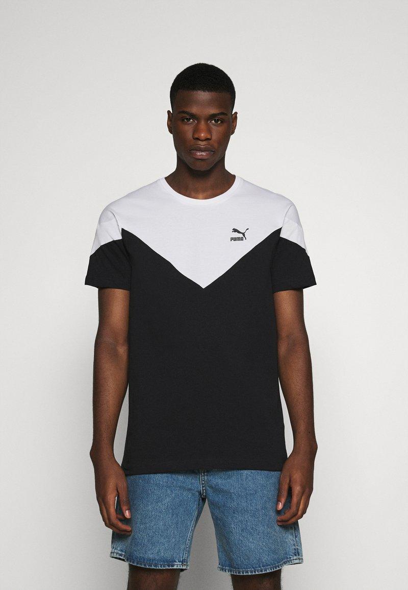 Puma - ICONIC TEE - T-shirt med print - black