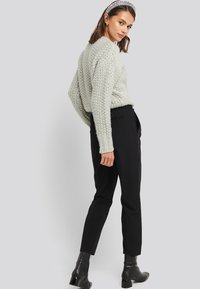 NA-KD - Trousers - black - 3