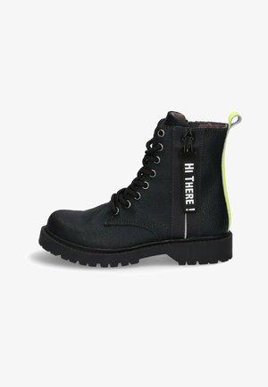 Veterboots - black/fluor