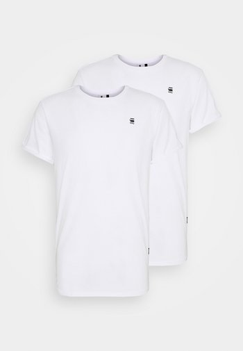 LASH 2 PACK - Basic T-shirt - white