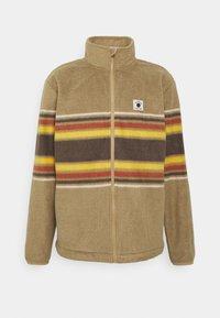 Quiksilver - CLEAN COASTS PRINT - Fleece jacket - brown - 0