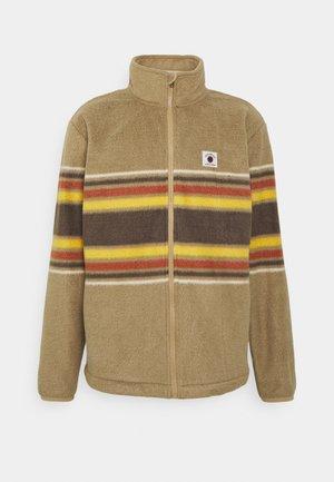 CLEAN COASTS PRINT - Fleece jacket - brown