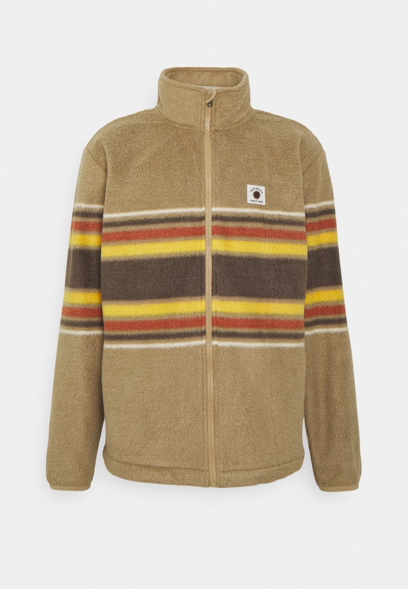Quiksilver - CLEAN COASTS PRINT - Fleece jacket - brown
