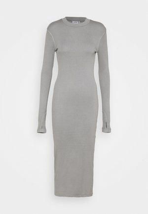 ELLA DRESS - Pletené šaty - grey medium dusty
