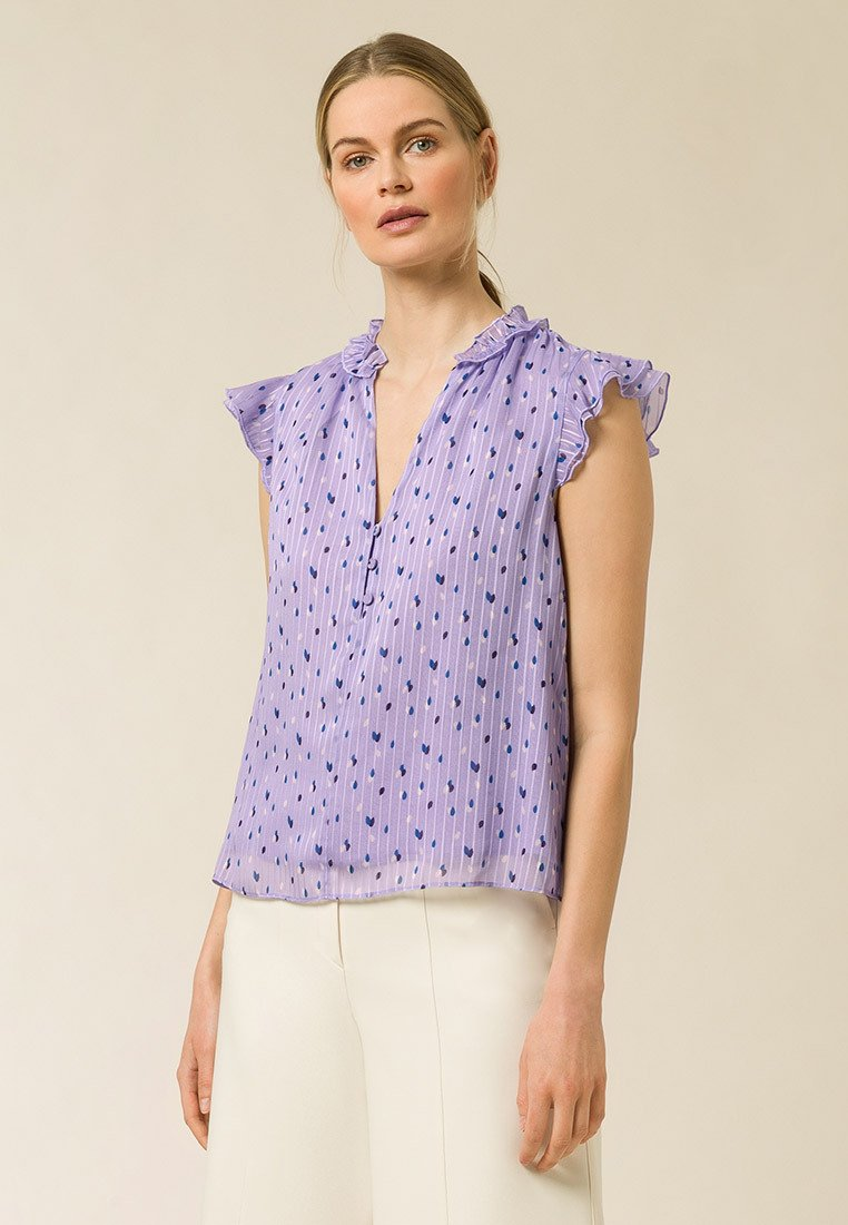 IVY & OAK - Blouse - aop - painted dot peony