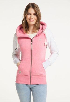NESKA - Zip-up hoodie - pink