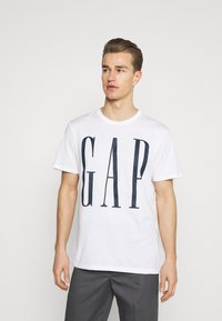 GAP - 2 PACK - Print T-shirt - black/white - 3