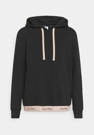 MODERN LOUNGE PULL OVER HOODIE REGULAR - Pyjamapaita - black/honey almond